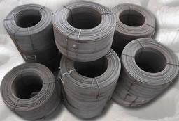 Fully Annealed Wire for Carton Baling Press Machine, Black Wire, Oiled, Wire thickness 3.0 mm